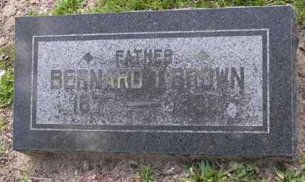 BROWN, BERNARD T. - Yavapai County, Arizona | BERNARD T. BROWN - Arizona Gravestone Photos