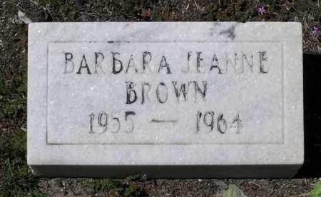 BROWN, BARBARA JEANNE - Yavapai County, Arizona | BARBARA JEANNE BROWN - Arizona Gravestone Photos