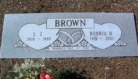 BROWN, BOBRIA D. - Yavapai County, Arizona   BOBRIA D. BROWN - Arizona Gravestone Photos