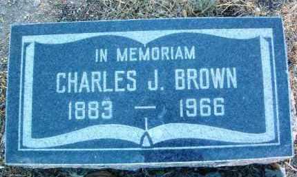 BROWN, CHARLES JUDSON - Yavapai County, Arizona | CHARLES JUDSON BROWN - Arizona Gravestone Photos