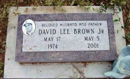 BROWN, DAVID LEE - Yavapai County, Arizona | DAVID LEE BROWN - Arizona Gravestone Photos