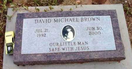 BROWN, DAVID MICHAEL - Yavapai County, Arizona | DAVID MICHAEL BROWN - Arizona Gravestone Photos