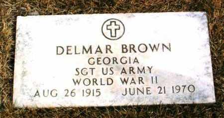 BROWN, DELMAR - Yavapai County, Arizona | DELMAR BROWN - Arizona Gravestone Photos