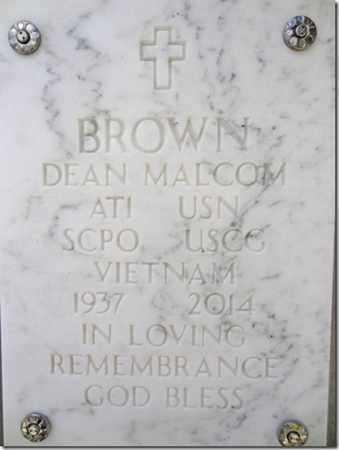 BROWN, DEAN MALCOM - Yavapai County, Arizona | DEAN MALCOM BROWN - Arizona Gravestone Photos