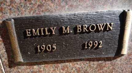 BROWN, EMILY MARY - Yavapai County, Arizona | EMILY MARY BROWN - Arizona Gravestone Photos