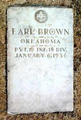 BROWN, EARL - Yavapai County, Arizona | EARL BROWN - Arizona Gravestone Photos