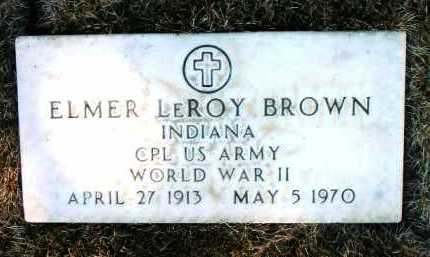 BROWN, ELMER LEROY - Yavapai County, Arizona | ELMER LEROY BROWN - Arizona Gravestone Photos