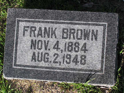 BROWN, FRANK - Yavapai County, Arizona   FRANK BROWN - Arizona Gravestone Photos