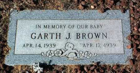 BROWN, GARTH J. - Yavapai County, Arizona | GARTH J. BROWN - Arizona Gravestone Photos