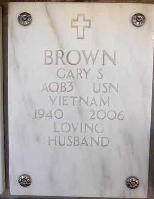 BROWN, GARY SHUMWAY - Yavapai County, Arizona | GARY SHUMWAY BROWN - Arizona Gravestone Photos