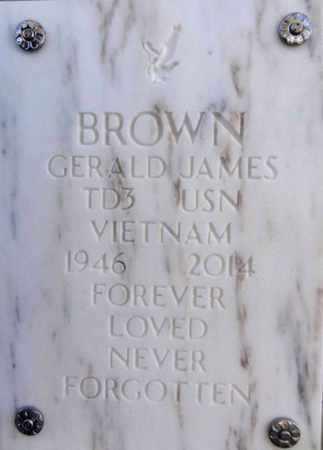 BROWN, GERALD JAMES - Yavapai County, Arizona | GERALD JAMES BROWN - Arizona Gravestone Photos