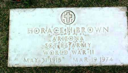 BROWN, HORACE HASKELL - Yavapai County, Arizona | HORACE HASKELL BROWN - Arizona Gravestone Photos
