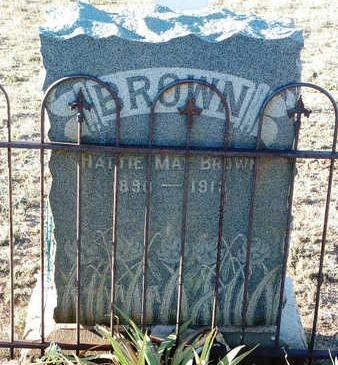 BISHOP BROWN, HATTIE MAE - Yavapai County, Arizona | HATTIE MAE BISHOP BROWN - Arizona Gravestone Photos