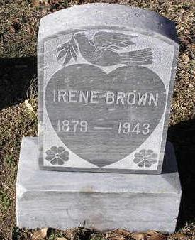 BROWN, IRENE - Yavapai County, Arizona | IRENE BROWN - Arizona Gravestone Photos