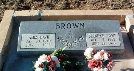 BROWN, MAY BERNIECE - Yavapai County, Arizona | MAY BERNIECE BROWN - Arizona Gravestone Photos