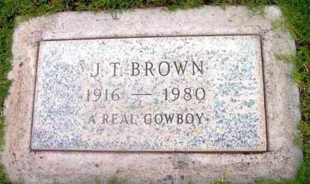 BROWN, JOHN THOMAS - Yavapai County, Arizona   JOHN THOMAS BROWN - Arizona Gravestone Photos
