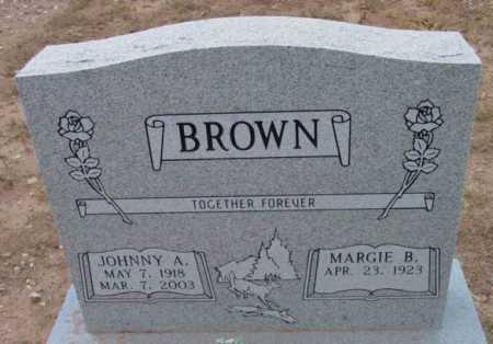 BROWN, JOHNNY ALTON - Yavapai County, Arizona | JOHNNY ALTON BROWN - Arizona Gravestone Photos