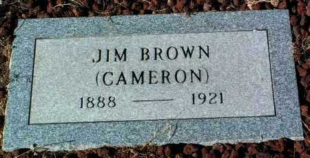 BROWN, JIM (CAMERON) - Yavapai County, Arizona | JIM (CAMERON) BROWN - Arizona Gravestone Photos