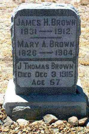 BROWN, JAMES H. - Yavapai County, Arizona | JAMES H. BROWN - Arizona Gravestone Photos