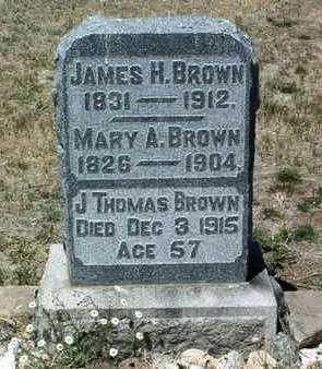 BROWN, JAMES THOMAS - Yavapai County, Arizona | JAMES THOMAS BROWN - Arizona Gravestone Photos