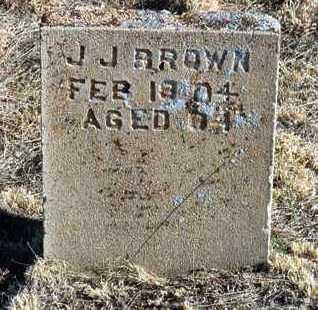 BROWN, JOHN J. - Yavapai County, Arizona   JOHN J. BROWN - Arizona Gravestone Photos