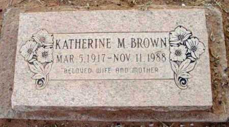 BROWN, KATHERINE MERCEDES - Yavapai County, Arizona | KATHERINE MERCEDES BROWN - Arizona Gravestone Photos