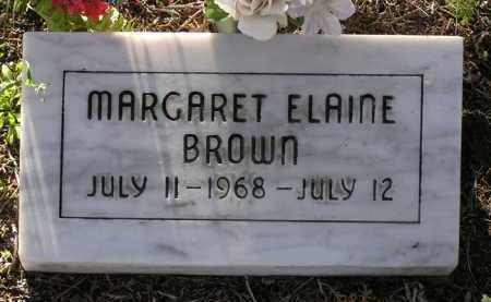 BROWN, MARGARET ELAINE - Yavapai County, Arizona | MARGARET ELAINE BROWN - Arizona Gravestone Photos