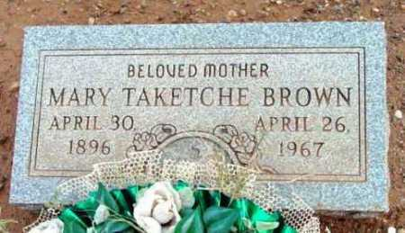 BROWN, MARY - Yavapai County, Arizona | MARY BROWN - Arizona Gravestone Photos