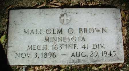 BROWN, MALCOLM OTIS - Yavapai County, Arizona | MALCOLM OTIS BROWN - Arizona Gravestone Photos