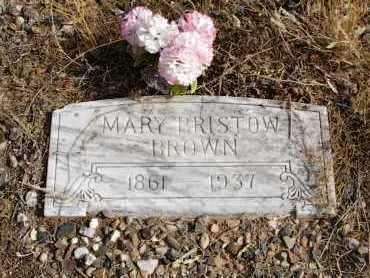 BRISTOW BROWN, MARY - Yavapai County, Arizona | MARY BRISTOW BROWN - Arizona Gravestone Photos