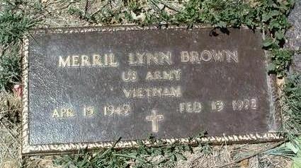 BROWN, MERRIL LYNN - Yavapai County, Arizona | MERRIL LYNN BROWN - Arizona Gravestone Photos