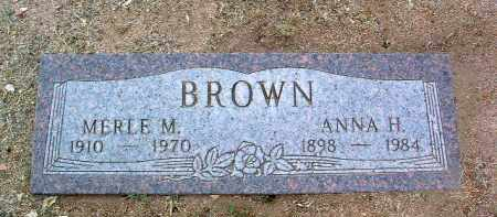BROWN, ANNA JANE - Yavapai County, Arizona | ANNA JANE BROWN - Arizona Gravestone Photos