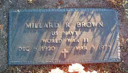 BROWN, MILLARD R. - Yavapai County, Arizona | MILLARD R. BROWN - Arizona Gravestone Photos