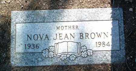 BROWN, NOVA JEAN - Yavapai County, Arizona | NOVA JEAN BROWN - Arizona Gravestone Photos