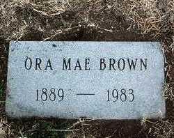 BROWN, ORA MAE - Yavapai County, Arizona   ORA MAE BROWN - Arizona Gravestone Photos