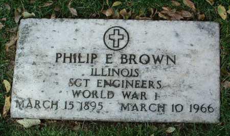 BROWN, PHILIP E. - Yavapai County, Arizona | PHILIP E. BROWN - Arizona Gravestone Photos