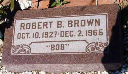 BROWN, ROBERT BRUCE - Yavapai County, Arizona | ROBERT BRUCE BROWN - Arizona Gravestone Photos