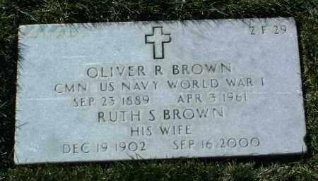 BROWN, RUTH S. - Yavapai County, Arizona   RUTH S. BROWN - Arizona Gravestone Photos