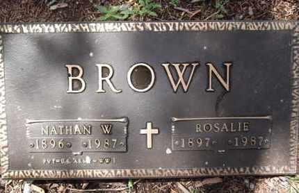 BROWN, ROSALIE - Yavapai County, Arizona | ROSALIE BROWN - Arizona Gravestone Photos