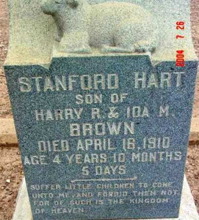 BROWN, STANFORD HART - Yavapai County, Arizona | STANFORD HART BROWN - Arizona Gravestone Photos