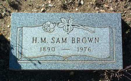 BROWN, SAM HENRY MILTON  - Yavapai County, Arizona | SAM HENRY MILTON  BROWN - Arizona Gravestone Photos