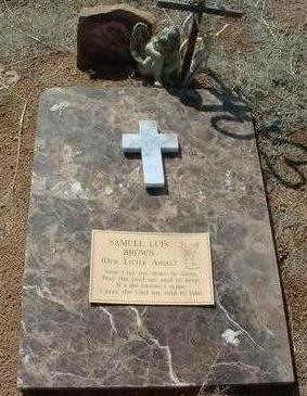 BROWN, SAMUEL LUIS - Yavapai County, Arizona | SAMUEL LUIS BROWN - Arizona Gravestone Photos