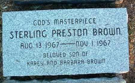 BROWN, STERLING PRESTON - Yavapai County, Arizona | STERLING PRESTON BROWN - Arizona Gravestone Photos