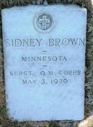 BROWN, SIDNEY - Yavapai County, Arizona | SIDNEY BROWN - Arizona Gravestone Photos