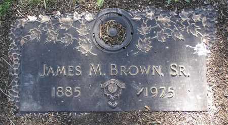 BROWN, JAMES M., SR. - Yavapai County, Arizona | JAMES M., SR. BROWN - Arizona Gravestone Photos