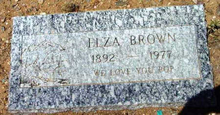 BROWN, THOMAS ELZA - Yavapai County, Arizona | THOMAS ELZA BROWN - Arizona Gravestone Photos