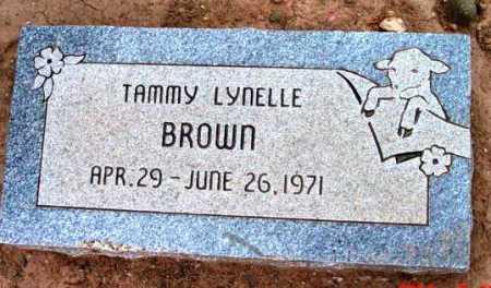BROWN, TAMMY LYNELLE - Yavapai County, Arizona   TAMMY LYNELLE BROWN - Arizona Gravestone Photos