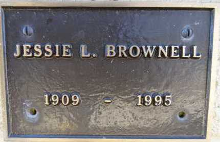 BROWNELL, JESSIE LOGAN - Yavapai County, Arizona | JESSIE LOGAN BROWNELL - Arizona Gravestone Photos