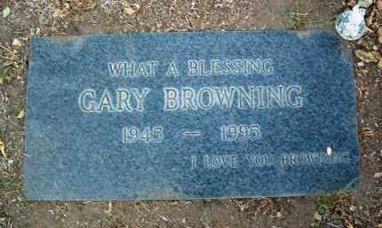 BROWNING, GARY ALLEN - Yavapai County, Arizona | GARY ALLEN BROWNING - Arizona Gravestone Photos