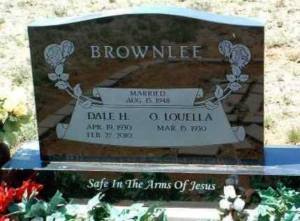 BROWNLEE, DALE H. - Yavapai County, Arizona | DALE H. BROWNLEE - Arizona Gravestone Photos